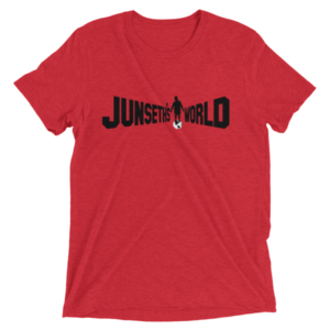 mockup a5627231 300x300 - Official Premium Tri-Blend Junseth's World T-Shirt
