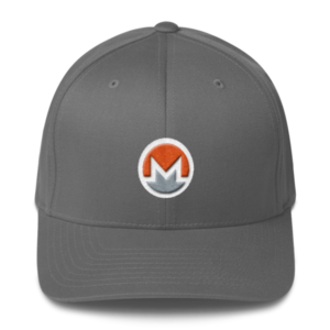 mockup a7026834 300x300 - Flexfit Monero Hat (Logo on White)
