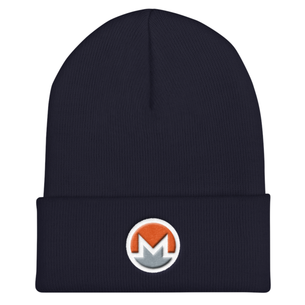 mockup abbbed46 600x600 - OG Monero Beanie (Logo on White)