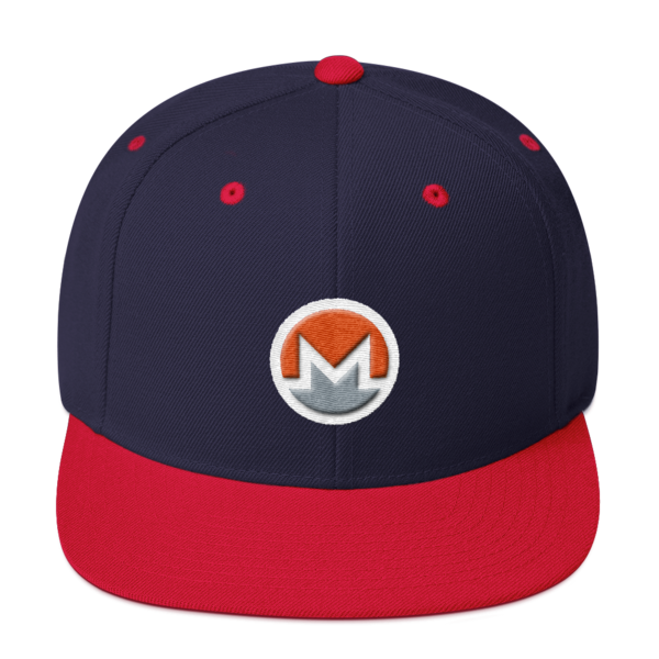 mockup b713453e 600x600 - Snapback Monero Hat (Logo on White)