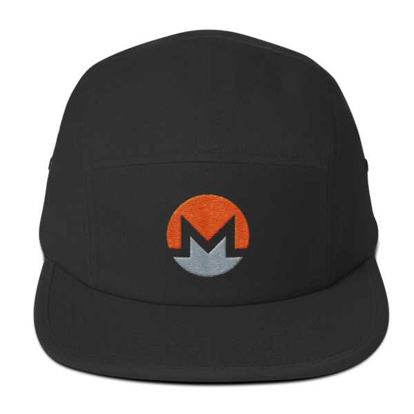 mockup c059b024 600x600 - Five Panel Monero Cap