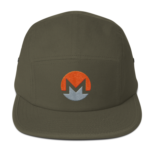 mockup c3469421 600x600 - Five Panel Monero Cap