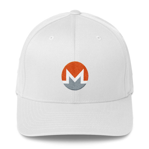 mockup c34cc595 600x600 - Flexfix Monero Hat (White M)