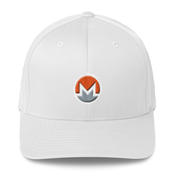 mockup c723a6b3 600x600 - Flexfit Monero Hat (Logo on White)