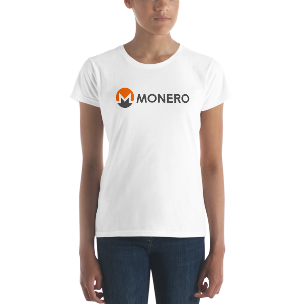 mockup c7ee2d18 600x600 - Ladies' Monero T-Shirt (With Text)
