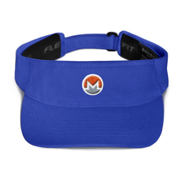 mockup cd52c658 600x600 - Monero Poker Visor (Logo on White)