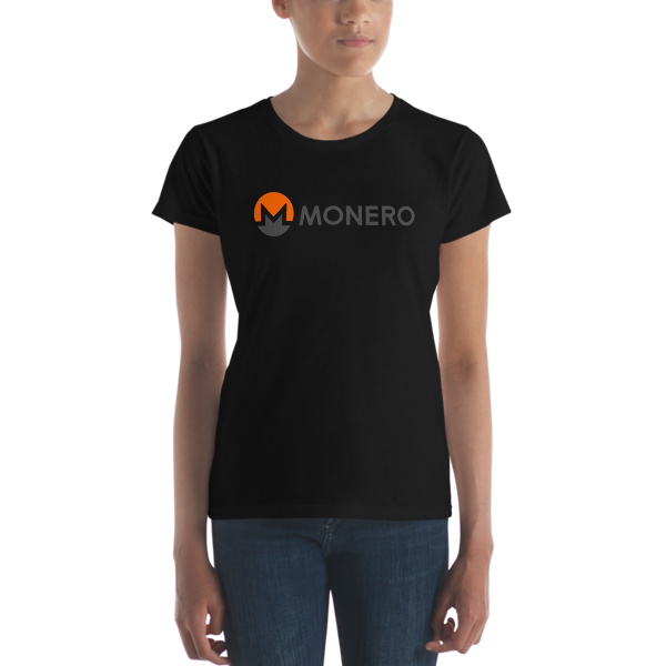 mockup d5f557c6 600x600 - Ladies' Monero T-Shirt (With Text)