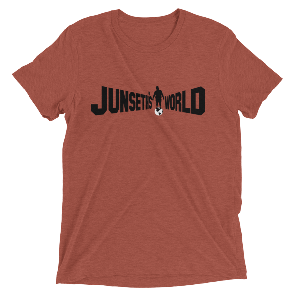 mockup dd62415b 600x600 - Official Premium Tri-Blend Junseth's World T-Shirt