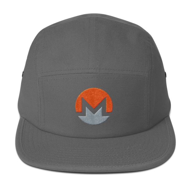 mockup ebdef1b4 600x600 - Five Panel Monero Cap