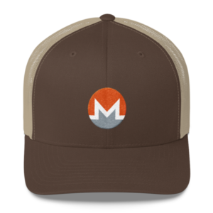 mockup ee77fb4f 300x300 - Monero Trucker Cap (White M)