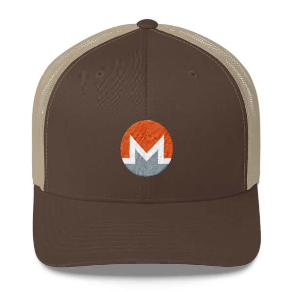 mockup ee77fb4f 600x600 - Monero Trucker Cap (White M)