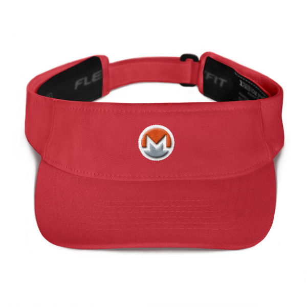 mockup f1fedaa9 600x600 - Monero Poker Visor (Logo on White)