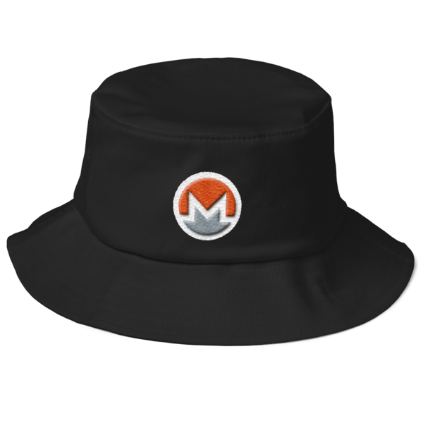 mockup f825fda0 600x600 - Monero Fisherman's Bucket Hat (Logo on White)