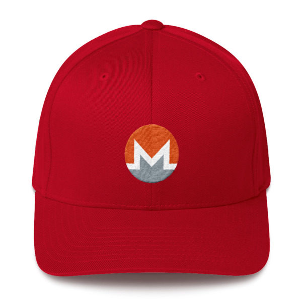 mockup f923e82c 600x600 - Flexfix Monero Hat (White M)